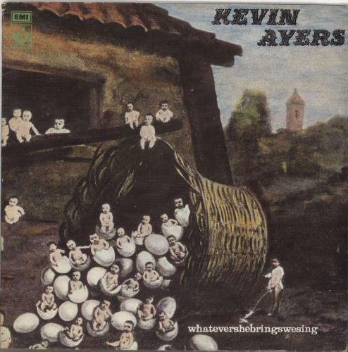 Kevin Ayers Whatevershebringswesing - 1st - Factory Sample vinyl LP album (LP record) UK AYRLPWH742828