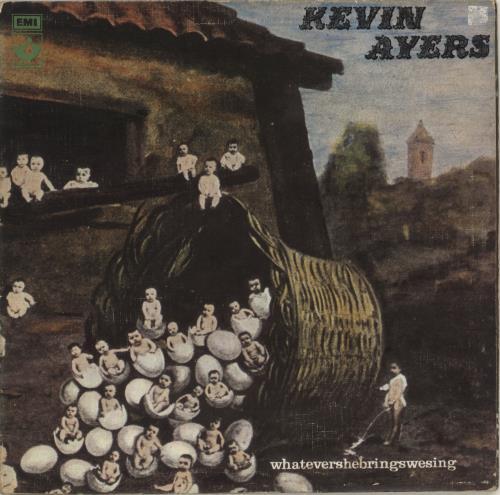 Kevin Ayers Whatevershebringswesing - 2nd - VG vinyl LP album (LP record) UK AYRLPWH694792