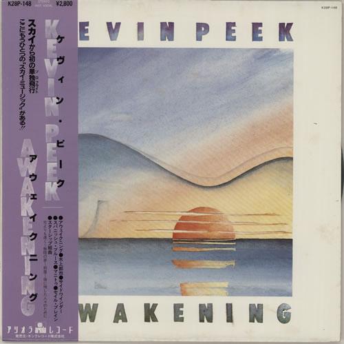 Kevin Peek Awakening vinyl LP album (LP record) Japanese KEPLPAW622447