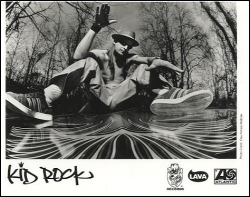 Kid Rock The History Of Rock media press pack US KDRPPTH160171