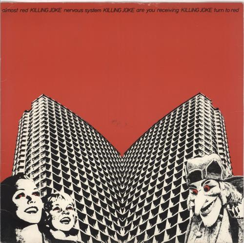 """Killing Joke Almost Red 12"""" vinyl single (12 inch record / Maxi-single) UK KIL12AL14163"""