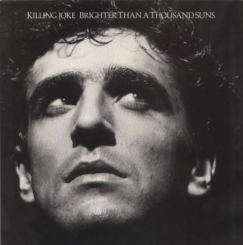 Killing Joke Brighter Than A Thousand Suns - EX vinyl LP album (LP record) UK KILLPBR730929