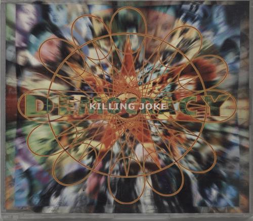 """Killing Joke Democracy CD single (CD5 / 5"""") UK KILC5DE160723"""