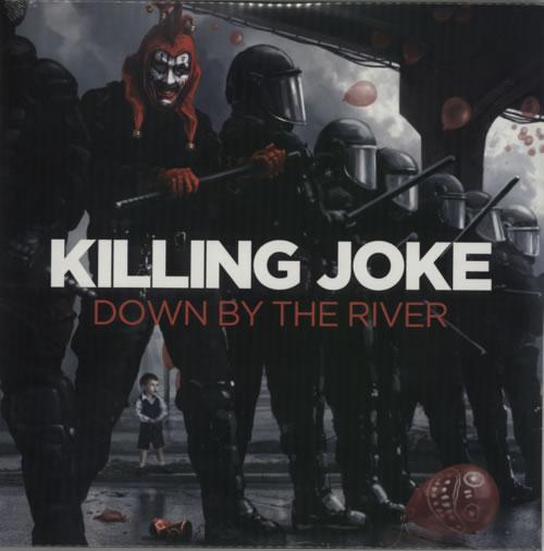 Killing Joke Down By The River + Bonus DVD 2-LP vinyl record set (Double Album) UK KIL2LDO590934