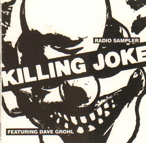 "Killing Joke Radio Sampler CD single (CD5 / 5"") US KILC5RA265862"