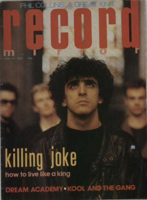 Killing Joke Record Mirror magazine UK KILMARE607948