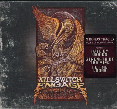 Killswitch Engage Incarnate - Special Edition - Sealed UK CD