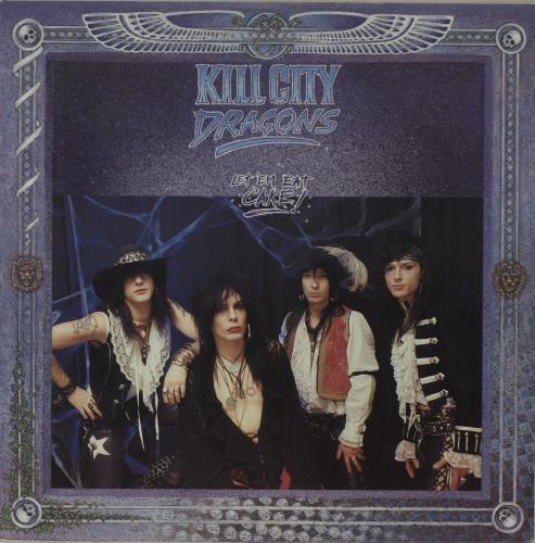 """Kill City Dragons Let'em Eat Cake 12"""" vinyl single (12 inch record / Maxi-single) UK O9P12LE683957"""