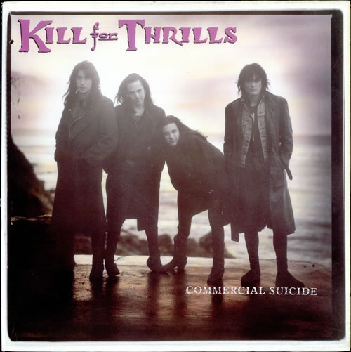 """Kill For Thrills Commercial Suicide 12"""" vinyl single (12 inch record / Maxi-single) US KJT12CO527926"""