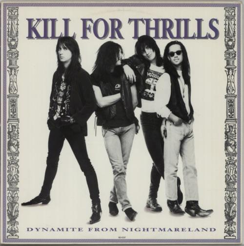 Kill For Thrills Dynamite From Nightmareland vinyl LP album (LP record) US KJTLPDY603544