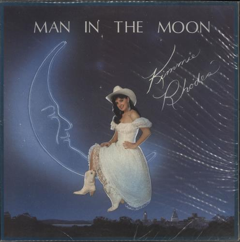 Kimmie Rhodes Man In The Moon vinyl LP album (LP record) UK ZYMLPMA721628