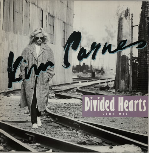 "Kim Carnes Divided Hearts 12"" vinyl single (12 inch record / Maxi-single) UK CNS12DI572546"