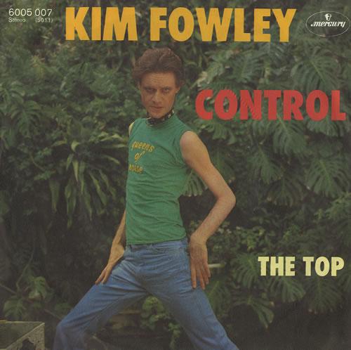 "Kim Fowley Control 7"" vinyl single (7 inch record) German KFW07CO493056"