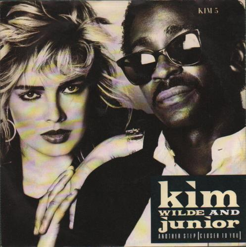 """Kim Wilde Another Step (Closer To You) 7"""" vinyl single (7 inch record) UK WIL07AN40654"""