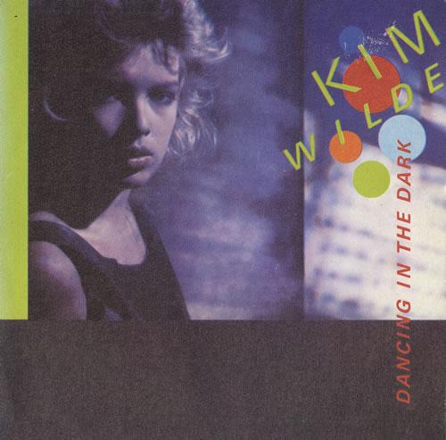 """Kim Wilde Dancing In The Dark 7"""" vinyl single (7 inch record) Spanish WIL07DA59398"""