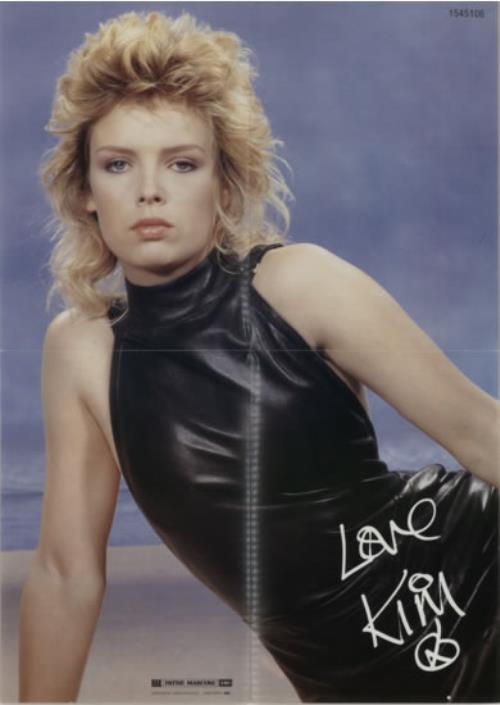 Kim Wilde Love Blonde Poster French 12 Quot Vinyl Single 12