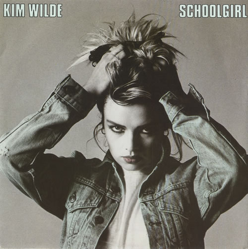 "Kim Wilde Schoolgirl 7"" vinyl single (7 inch record) German WIL07SC48027"