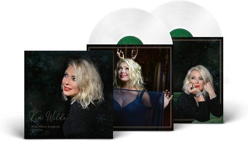Kim Wilde Wilde Winter Song Book - White Vinyl 2-LP vinyl record set (Double Album) UK WIL2LWI756408