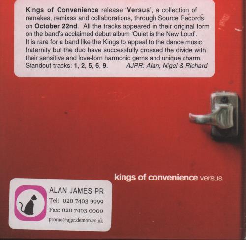 kings of convenience album