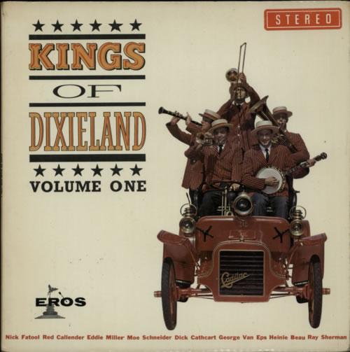 Kings Of Dixieland Kings Of Dixieland Vol. 1 vinyl LP album (LP record) UK KX5LPKI602483