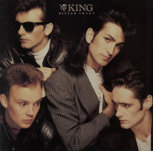 King Bitter Sweet - Gold promo stamped vinyl LP album (LP record) UK K-GLPBI571130