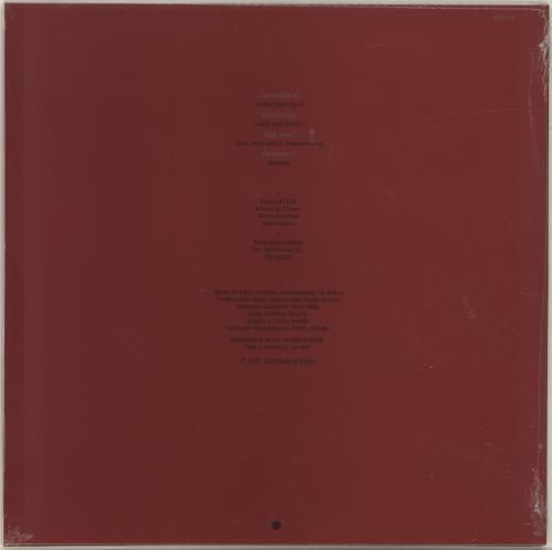 King Crimson Discipline - Remastered 200 Gram - Sealed vinyl LP album (LP record) UK KNCLPDI698783