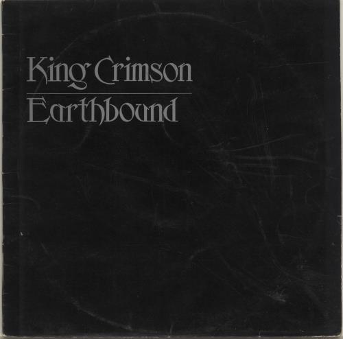 King Crimson Earthbound - 1st - VG vinyl LP album (LP record) UK KNCLPEA680183