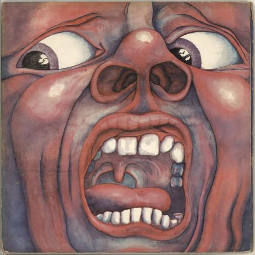 King Crimson In The Court Of - 1st - G vinyl LP album (LP record) UK KNCLPIN586073