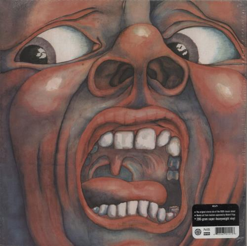 King Crimson In The Court Of The Crimson King - 200g - Sealed vinyl LP album (LP record) UK KNCLPIN683420