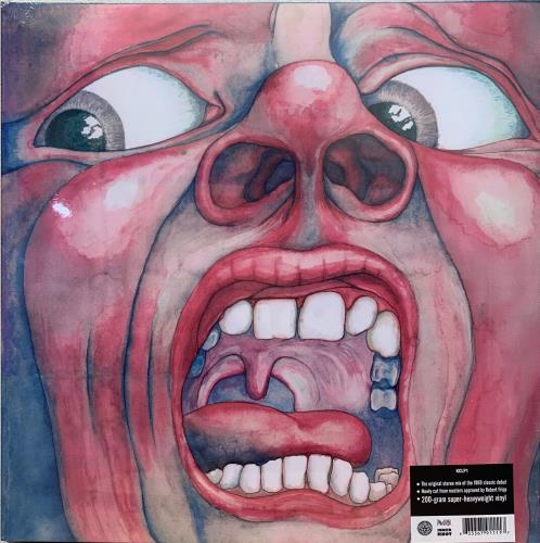 King Crimson In The Court Of The Crimson King - 200gm - Sealed vinyl LP album (LP record) UK KNCLPIN761312
