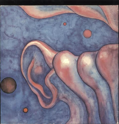 King Crimson In The Court Of The Crimson King - Gold Stamped Sleeve vinyl LP album (LP record) UK KNCLPIN731476