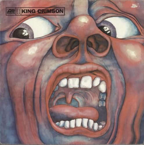 King Crimson In The Court Of The Crimson King vinyl LP album (LP record) Canadian KNCLPIN579532