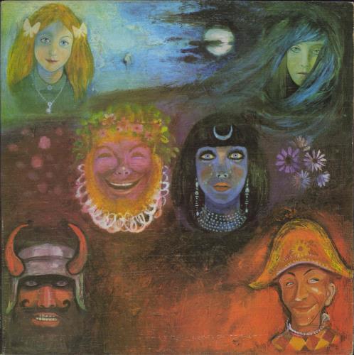 King Crimson In The Wake Of Poseidon - 1st - EX vinyl LP album (LP record) UK KNCLPIN61927