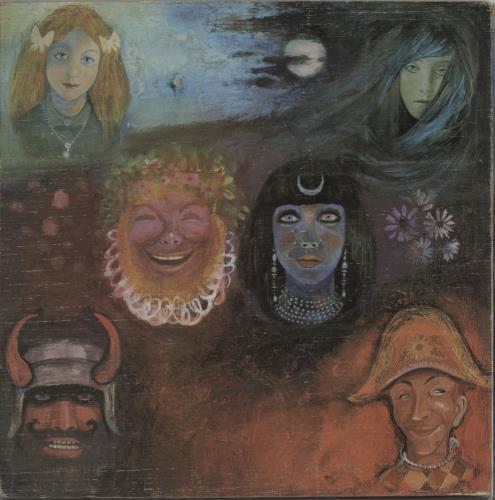 King Crimson In The Wake Of Poseidon - 1st - VG/EX vinyl LP album (LP record) UK KNCLPIN764512