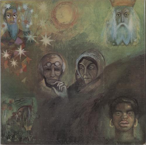 King Crimson In The Wake Of Poseidon - 1st vinyl LP album (LP record) UK KNCLPIN581437