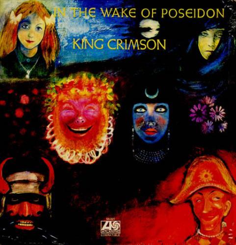 King Crimson In The Wake Of Poseidon Venezuelan Vinyl Lp