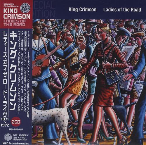 King Crimson Ladies Of The Road 2 CD album set (Double CD) Japanese KNC2CLA427903