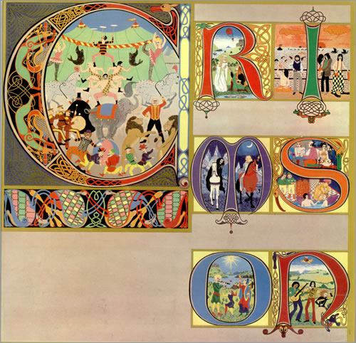 King Crimson Lizard vinyl LP album (LP record) UK KNCLPLI439219