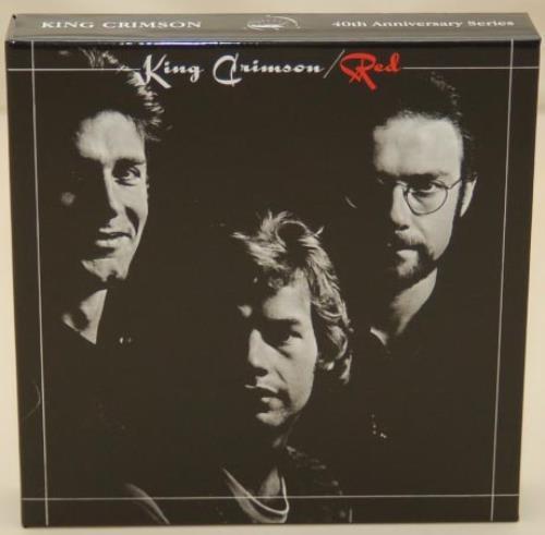 King Crimson Red + Box & Obi CD Album Box Set Japanese KNCDXRE755557