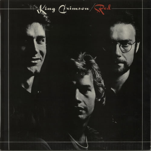 King Crimson Red - 1st - EX vinyl LP album (LP record) UK KNCLPRE308481