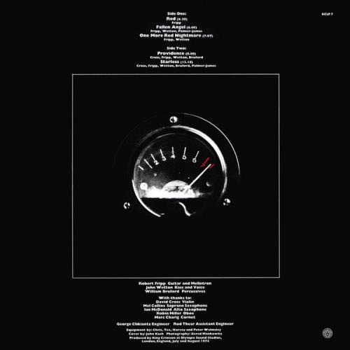 King Crimson Red - 200gm - Sealed vinyl LP album (LP record) UK KNCLPRE761307