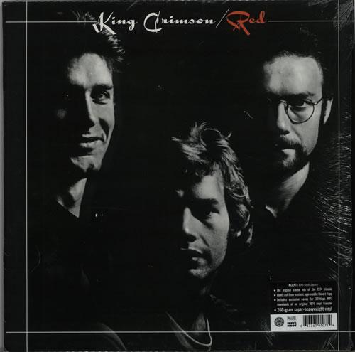 King Crimson Red - 200gm vinyl LP album (LP record) UK KNCLPRE640024