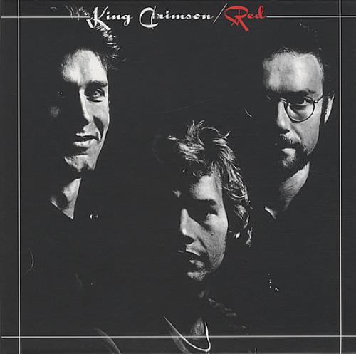 King Crimson Red CD album (CDLP) UK KNCCDRE166342