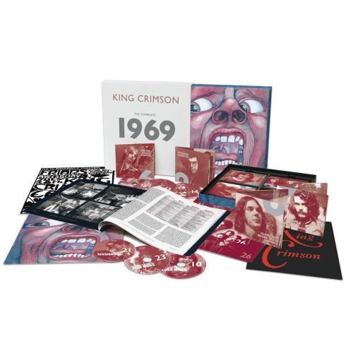 King Crimson The Complete 1969 Recordings - Boxset CD Album Box Set UK KNCDXTH755760