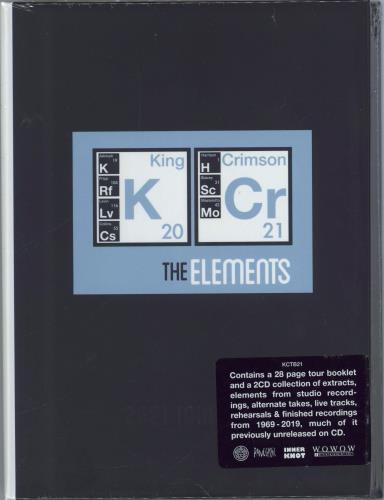King Crimson The Elements 2021 Tour Box - Sealed 2 CD album set (Double CD) UK KNC2CTH772459