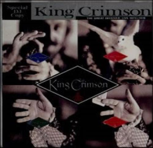 King Crimson The Great Deceiver - Live 1973-1974 Special DJ Copy CD album (CDLP) Japanese KNCCDTH155133