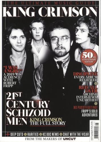 King Crimson The Ultimate Music Guide magazine UK KNCMATH736458