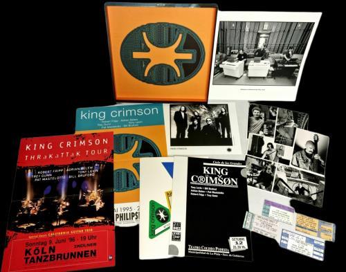 King Crimson THRAK Box box set UK KNCBXTH776858