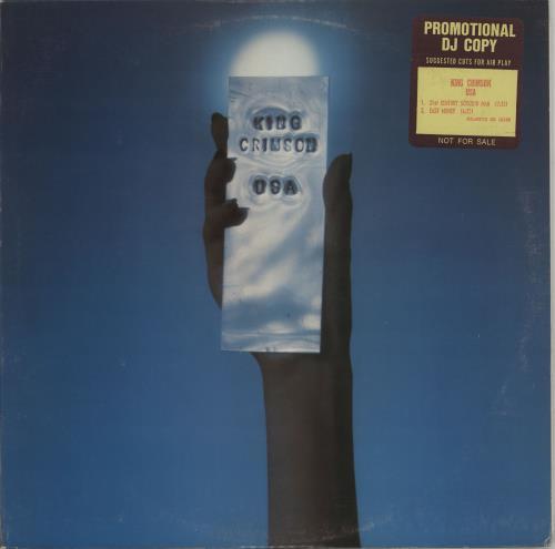 King Crimson USA - Suggested Cuts vinyl LP album (LP record) US KNCLPUS663899
