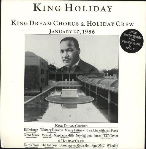"""King Dream Chorus King Holiday 12"""" vinyl single (12 inch record / Maxi-single) UK Q3Z12KI190331"""